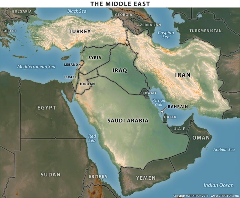 Ирак и съседните държави