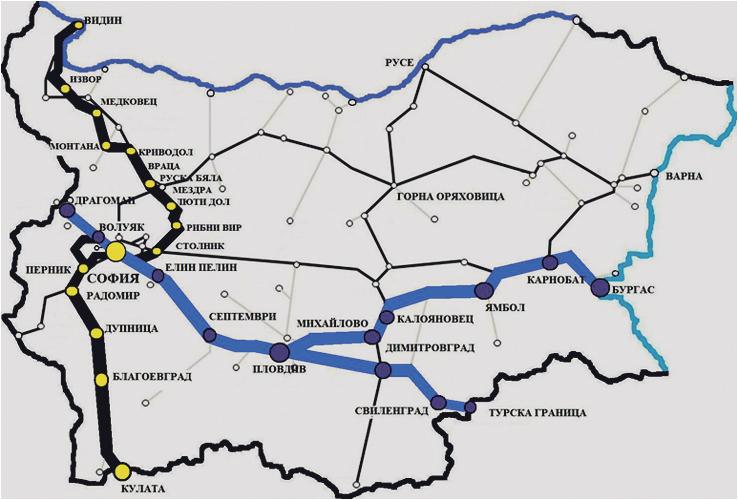 Svremenni Koncepcii Za Razvitie Na Blgarskite Zheleznici